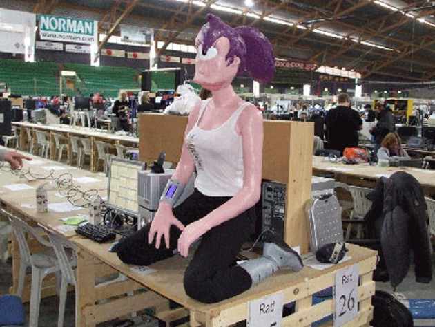 PC-Case: Leela aus Futurama