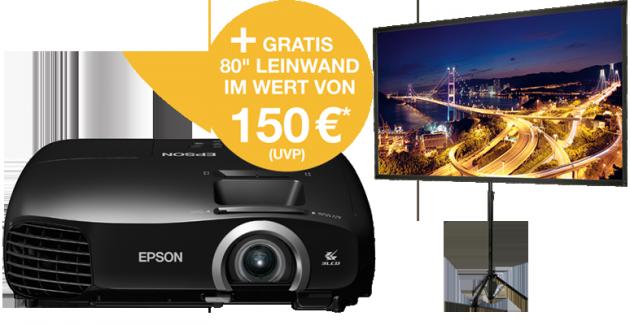 TW5200-Promo_Projektor-Leinwand-Störer