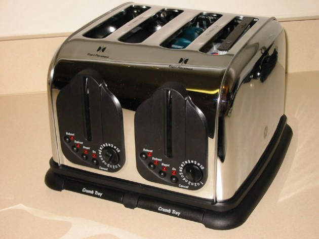 Toaster PC-Case