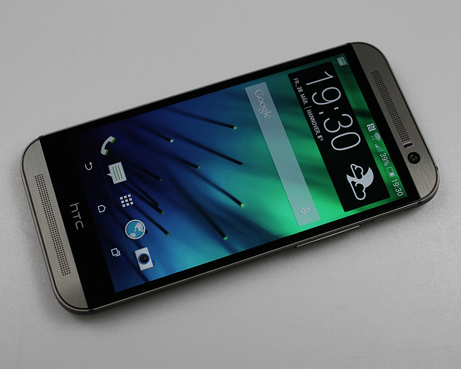 HTC One (M8) - Front, Display an