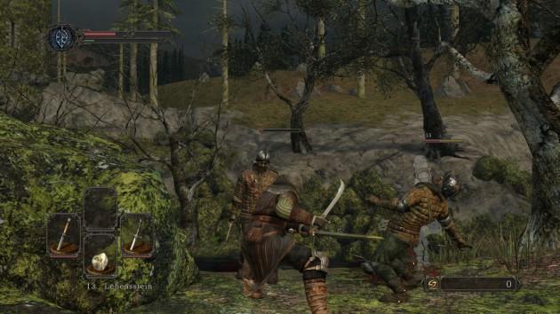 Drangleic ist kein Ponyhof: Leichte Kämpfe gibt es nicht.