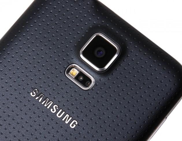 Samsung Galaxy S5 Fingerabdrucksensor und Kamera