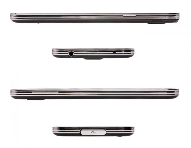 Samsung Galaxy S5 Seitenansichten