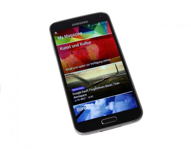 Samsung Galaxy S5 Vorderansicht