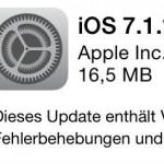 iOS 7.1.1: Sicherheitsupdate für iPhone und iPad
