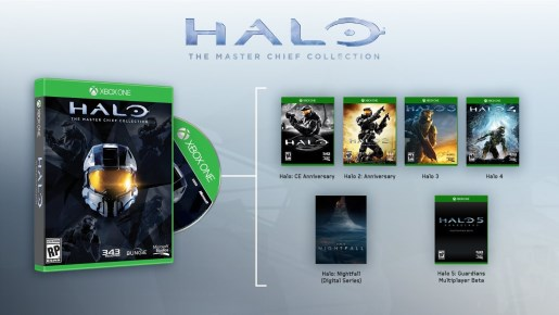 Microsoft kündigt Halo: The Master Chief Collection für Xbox One an