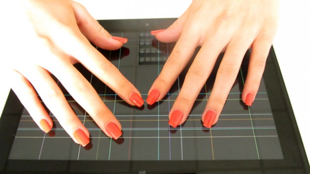 Multi-Touch bis zu 10 Berührungen