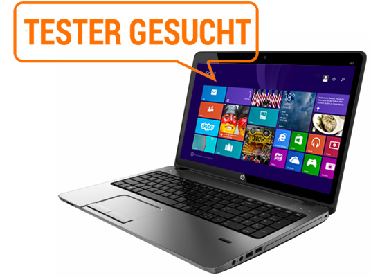 HP ProBook zum Testen: 15-Zoll-Notebook mit Windows 8.1 Pro und Touch-Screen