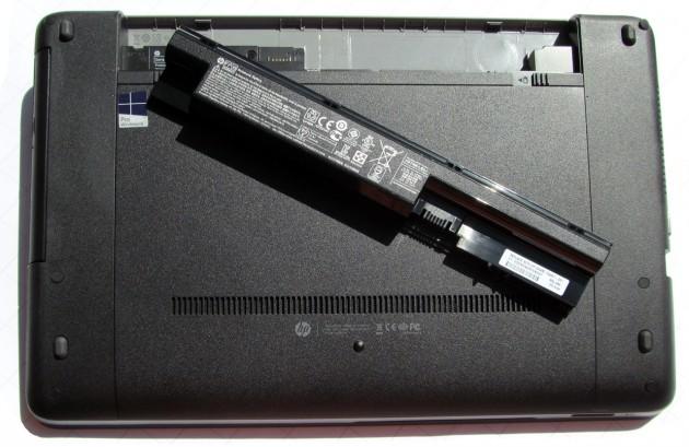 HP ProBook 450 Unterseite-mit-Akku
