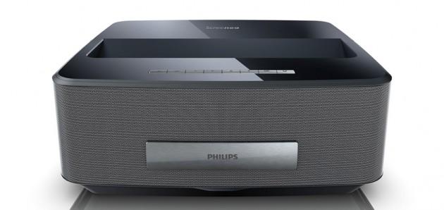 ultra kurzdistanz beamer philips hdp1590tv screeneo im test. Black Bedroom Furniture Sets. Home Design Ideas