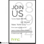 HTC: One M8 mit Windows Phone wird wohl am 19. August vorgestellt
