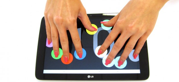 LG G Pad 10 Multitouch