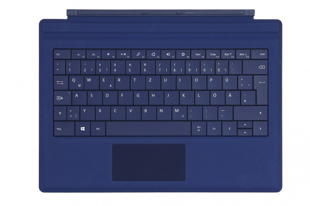 Das Microsoft Surface Pro 3 Type Cover