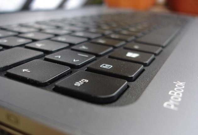 Probook Tastatur seitlich Detail