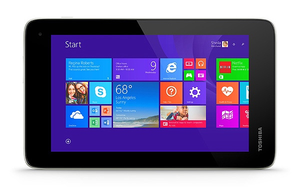 Toshibas neues 7-Zoll-Windows-Tablet Encore Mini kommt im Oktober