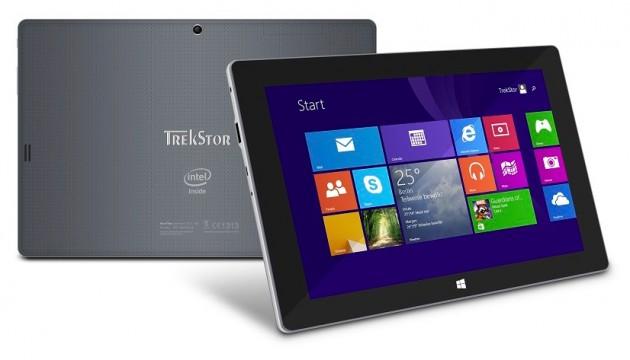 Erste Tablet mit Windows 8.1 von Trekstor