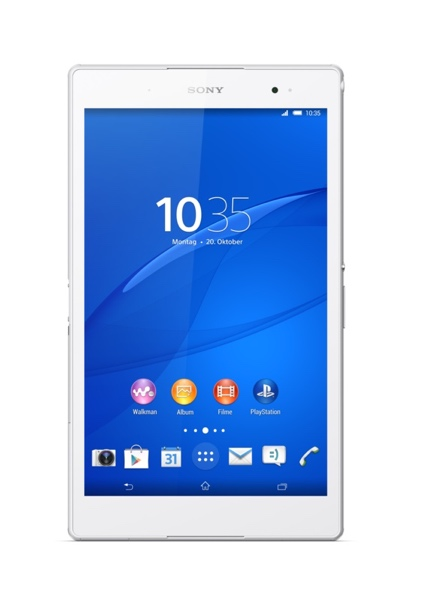 Xperia Z3 Tablet Compact_white_front_1