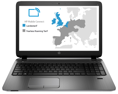 Mobile Connect: Mit HP Notebooks / Tablets europaweit per LTE ins Internet