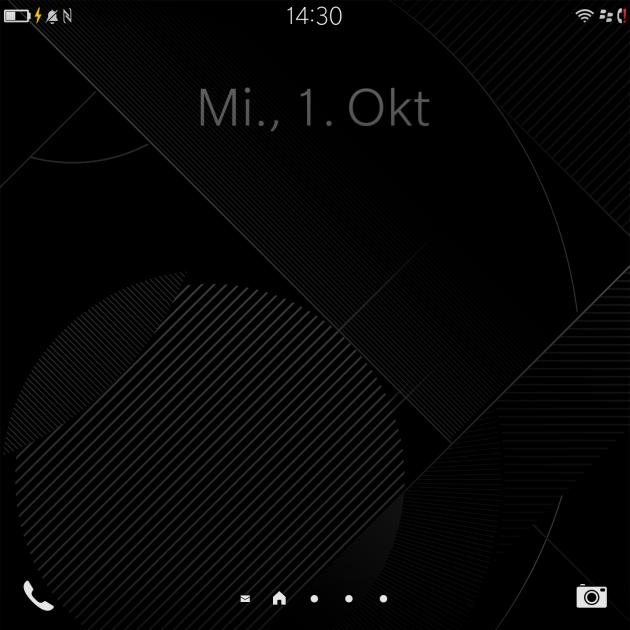 Blackberry Passport Homescreen
