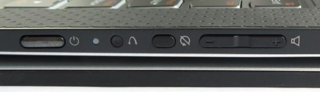Lenovo Yoga 3 Pro Bedienelemete