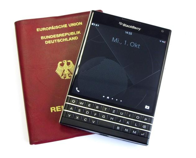 Passport-Aufmacher