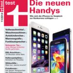 Stiftung Warentest 11/2014: 20 Smartphones im Test
