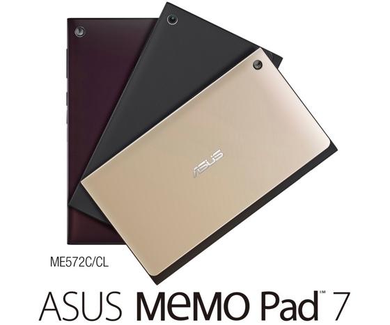 Asus bringt neues MeMO Pad 7 mit Full-HD-Display auf den deutschen Markt