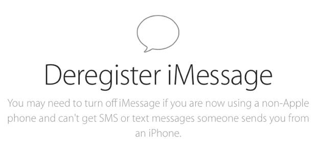 Apple ermöglicht nun Deaktivierung von iMessage via Web-Tool