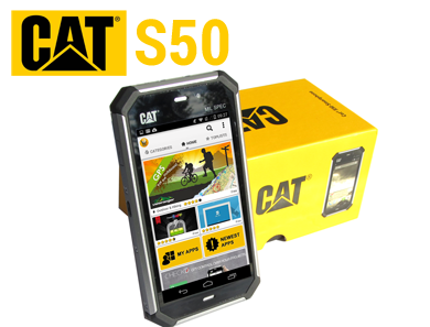 outdoor smartphone cat s50 von caterpillar im test. Black Bedroom Furniture Sets. Home Design Ideas
