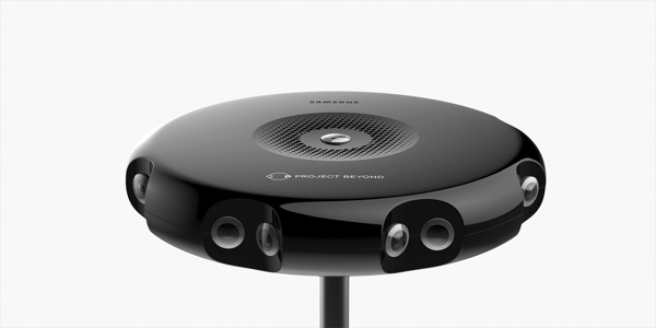 Project Beyond: Samsung stellt 3D-360-Grad-Kamera vor