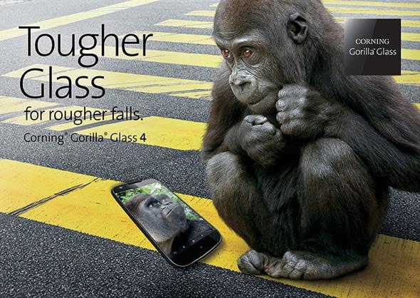 Corning stellt Gorilla Glass 4 offiziell vor