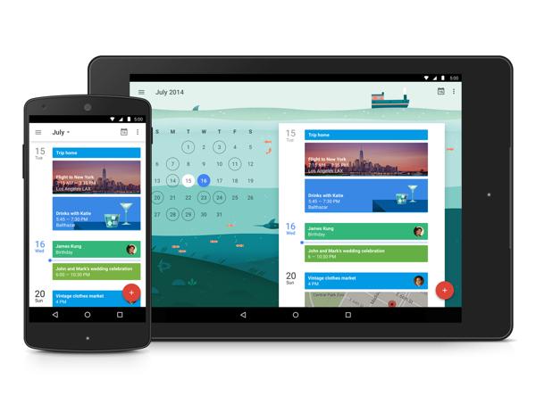 Neue Google Kalender-App im Material Design ist fertig