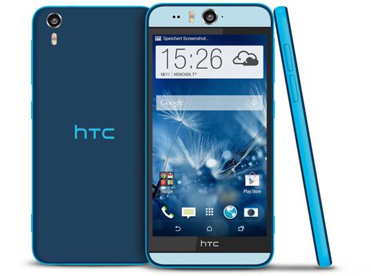 Test: HTC Desire Eye – Smartphone mit großem 5,2-Zoll-Display und 13-MPixel-Selfie-CAM