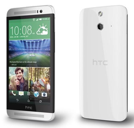 HTC One E8: Kunststoffvariante des One M8 jetzt in Deutschland erhältlich