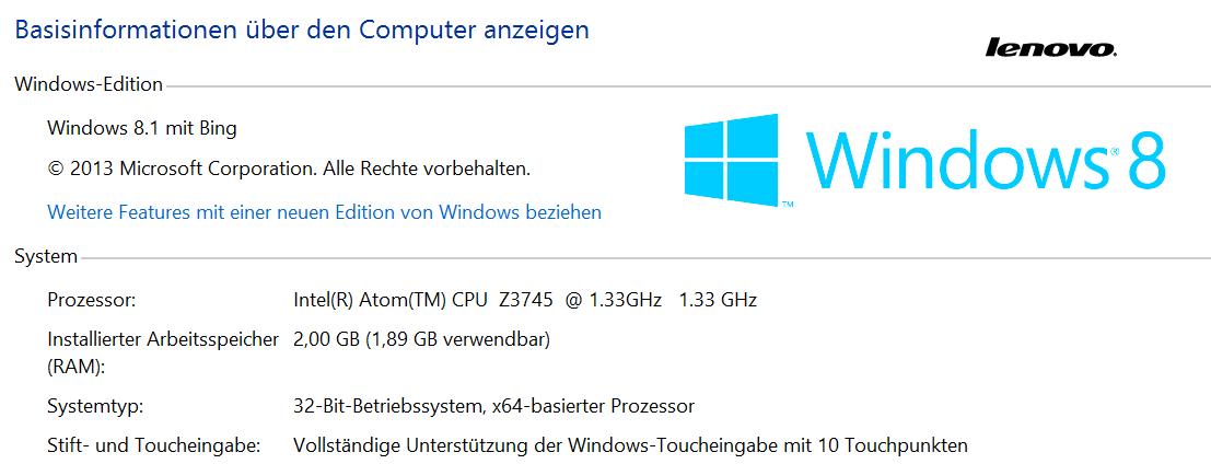 "Lenovo Yoga Tablet 2 10"" mit Windows 8.1 im Test"
