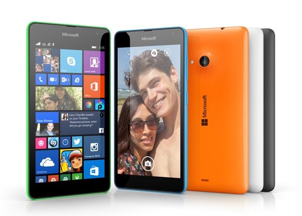 Microsoft Lumia 535 offiziell vorgestellt