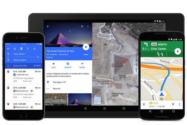 Neue Google Maps-App im Material Design ist fertig