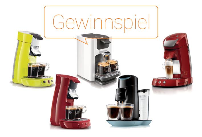 Gewinnspiel: Philips Senseo Kaffeemaschinen – Kaffeegenuss mit Zufriedenheitsgarantie – Update!