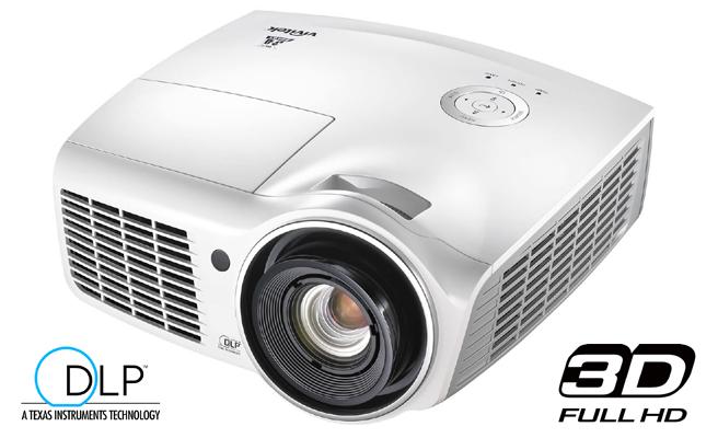 Vivitek D910HD – Full-HD-Beamer mit 3000 Ansi-Lumen und Display Port