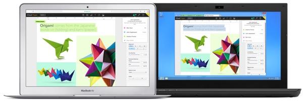 Apples iWork für iCloud jetzt auch auf Deutsch nutzbar