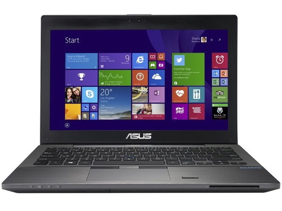 Asuspro Advanced BU201LA: Asus stellt 12,5-Zoll-Business-Notebook vor