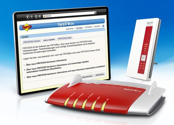 AVM verteilt FritzOS 6.20 für aktuelle FritzBox-Modelle und WLAN-Repeater