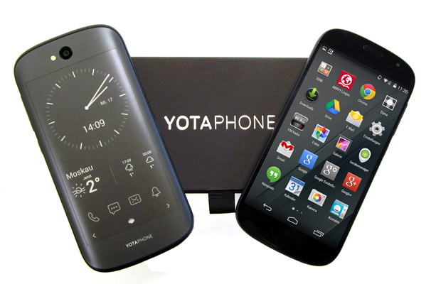 Yota Devices YotaPhone 2 – Android-Smartphone mit zwei Displays im Test