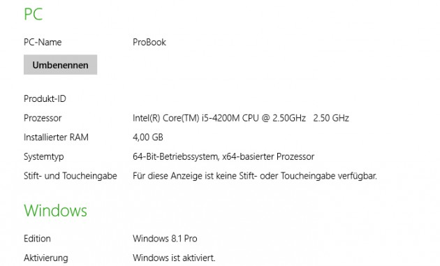 ProBook - Infos-zu-Windows-8.1-Pro