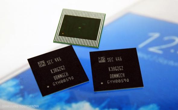 Samsung hat mit Serienproduktion von LPDDR4-RAM für Mobilgeräte begonnen