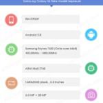 Vermeintliche Spezifikationen des Samsung Galaxy S6 in  ...