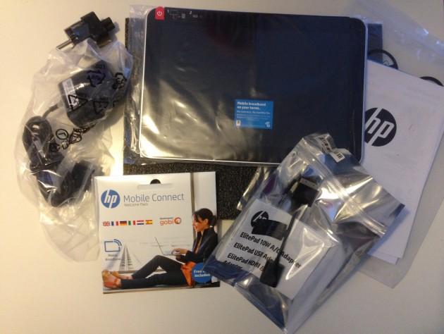 Tester - HP Elitepad 1000 G2 Lieferumfang
