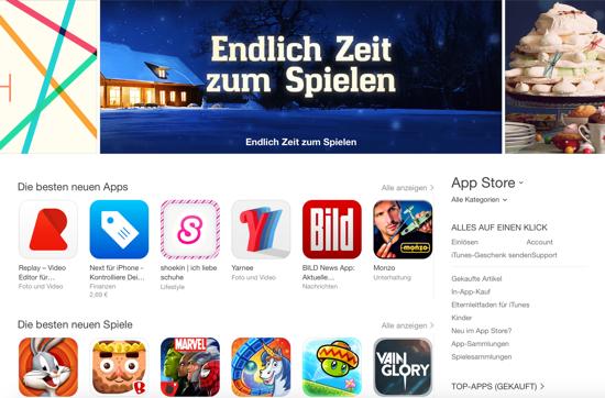 Apple öffnet die Tür für fortschrittlichere iOS-Apps und -Spiele
