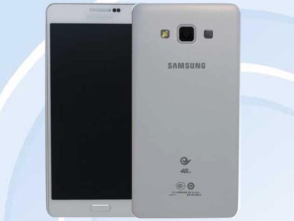 Galaxy A7: Chinesische Behörde verrät Samsungs bislang flachstes Smartphone