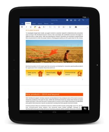 Microsoft stellt Office für Android und neue Outlook-App für iOS fertig
